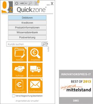 Quickzone Desktop