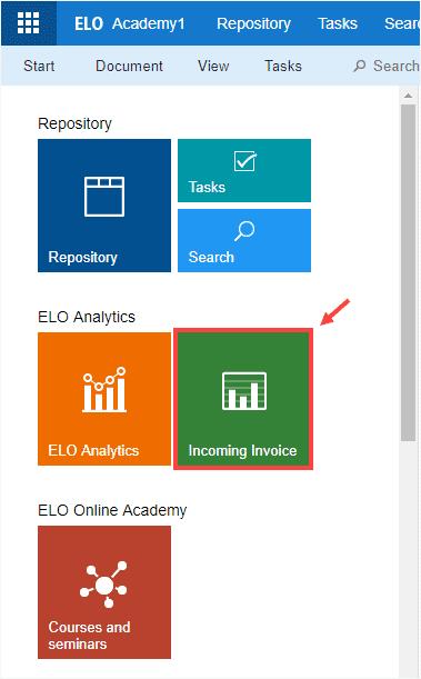 ELO Analytics Kacheln