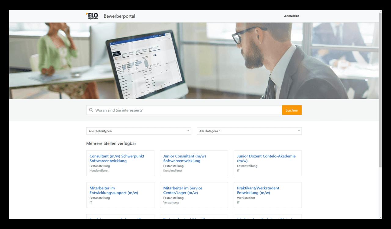 ELO HR Recruiting Stellenausschreibung