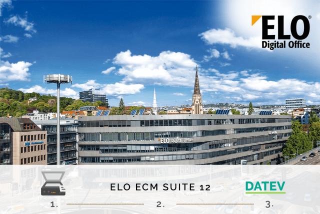 ELO und DATEV kooperieren im Bereich der Digitalisierung