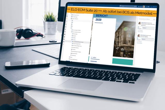 ELO ECM Suite 20 – Jetzt auch als Software-Mietmodell!